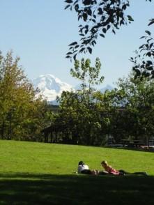 Figure 2_Vue sur Mount Baker depuis le campus